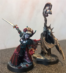 Vampire Lord and Necromancer
