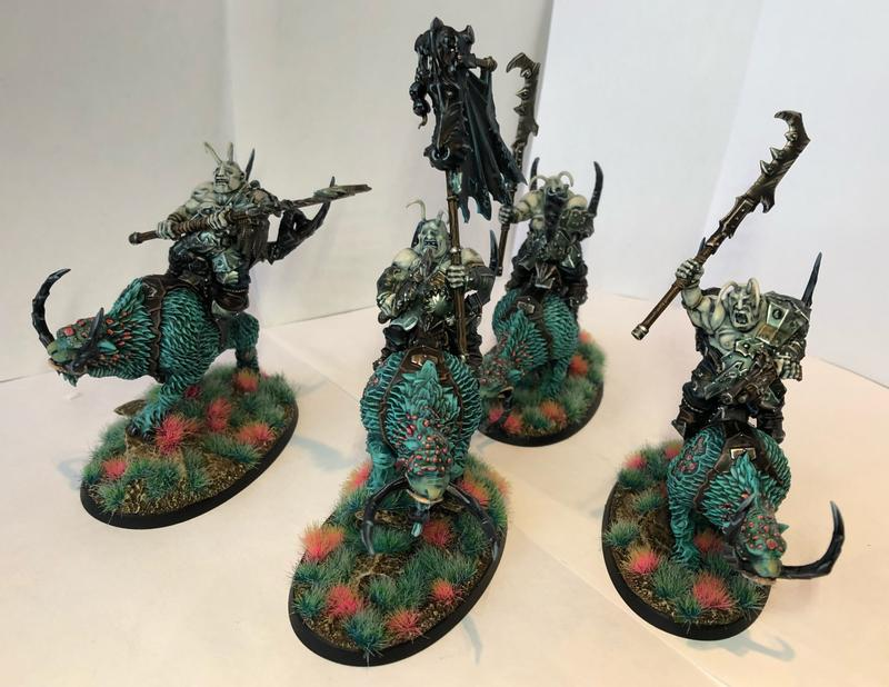Mournfang Pack Riders Beastclaw Riders Age of Sigmar