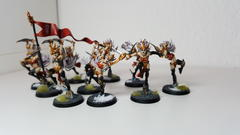 First Squad of Witch Aelves - Overview 2